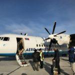 モンゴルの国内飛行機について